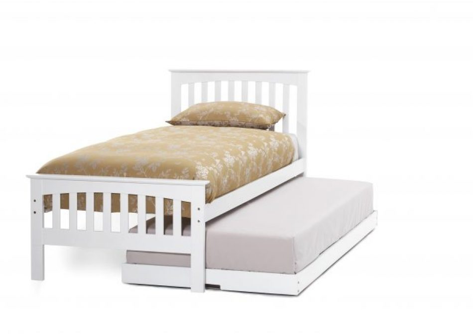 Guest Bed in Opal White