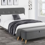Retro Upholstered Bed 004