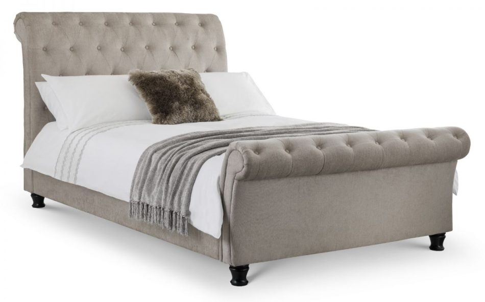 Scroll Fabric Bed 007