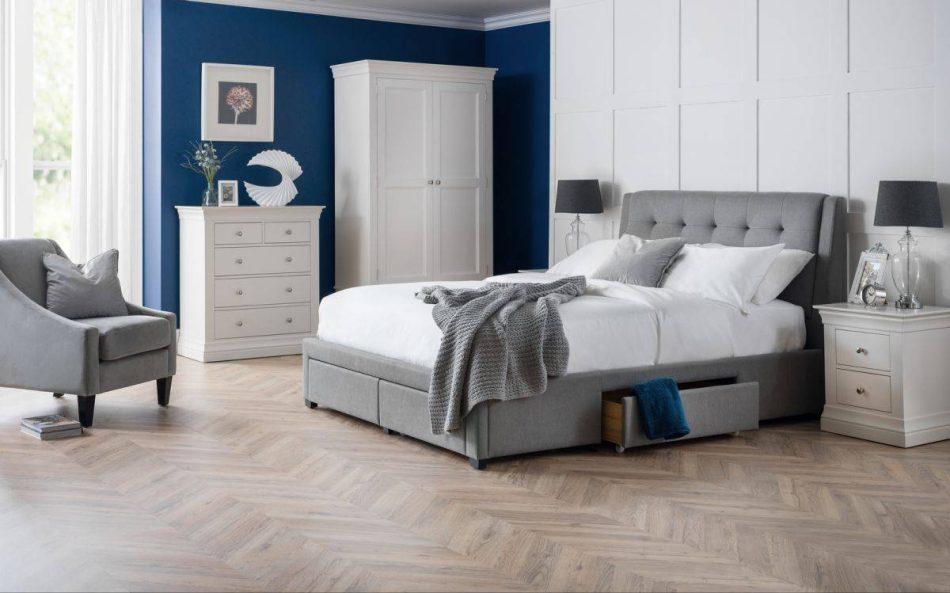 Fabric Storage Bed 001