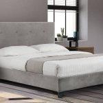 Grey Velvet Bed 005