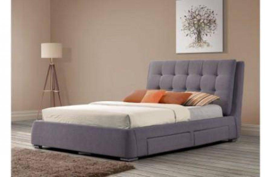 Fabric Storage Bed