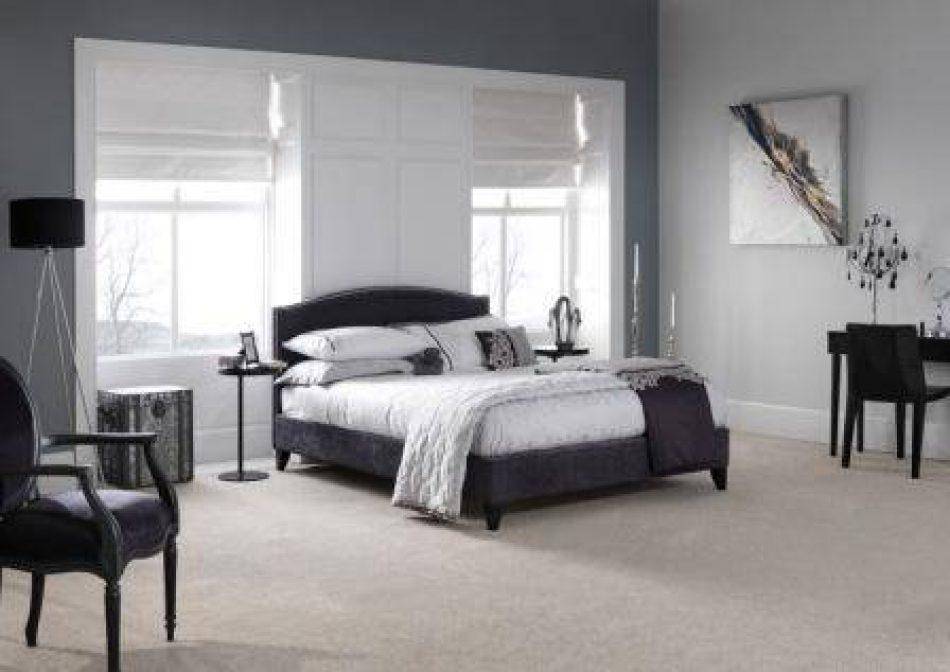 Studded Upholstered Bed 004
