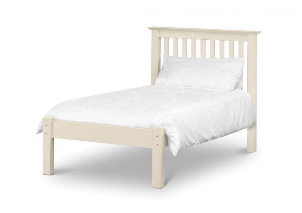 Stone White Pine frame low footend