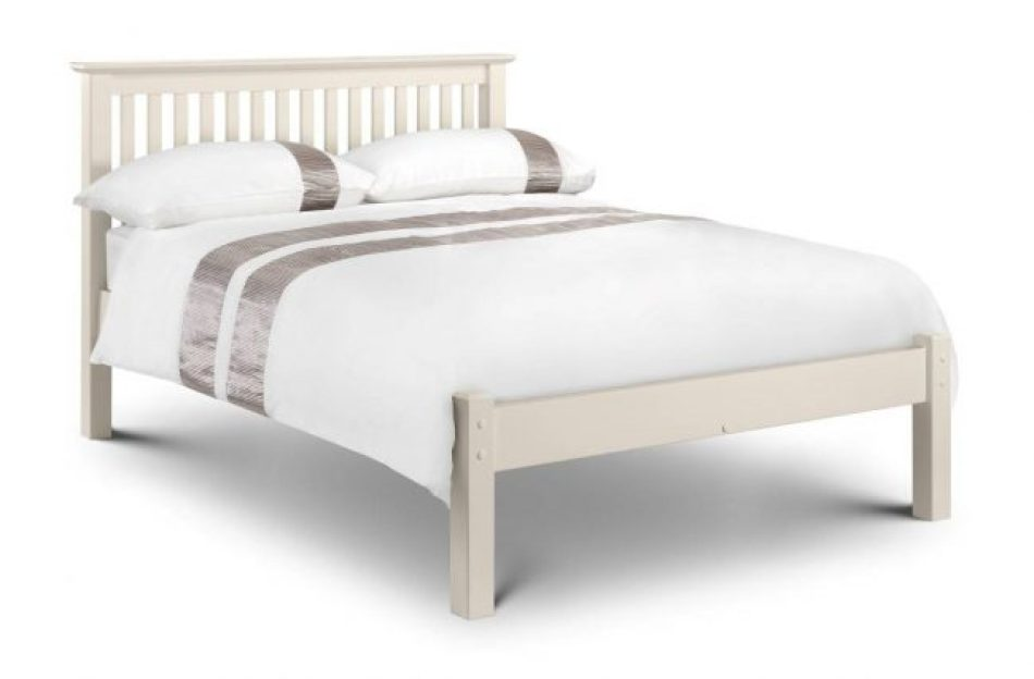 Double Stone White low foot frame