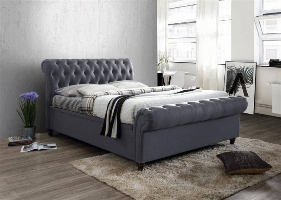 Pleasing Sleigh Ottoman Bed 009 Pdpeps Interior Chair Design Pdpepsorg