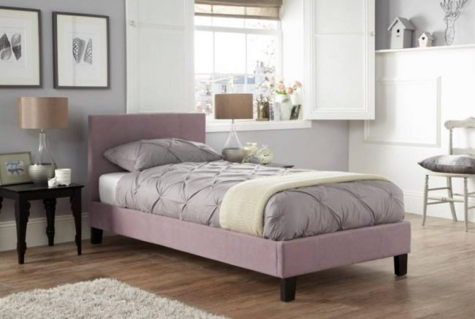 Simple Upholstered Bed