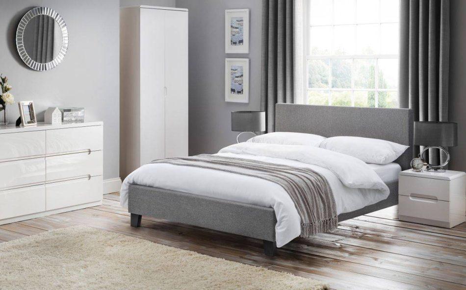 Grey Fabric Bed 002