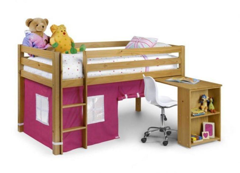 Bed 114 Midi Sleeper Pink