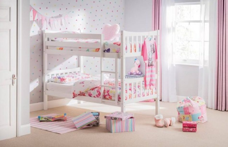Bed 122 White Bunk