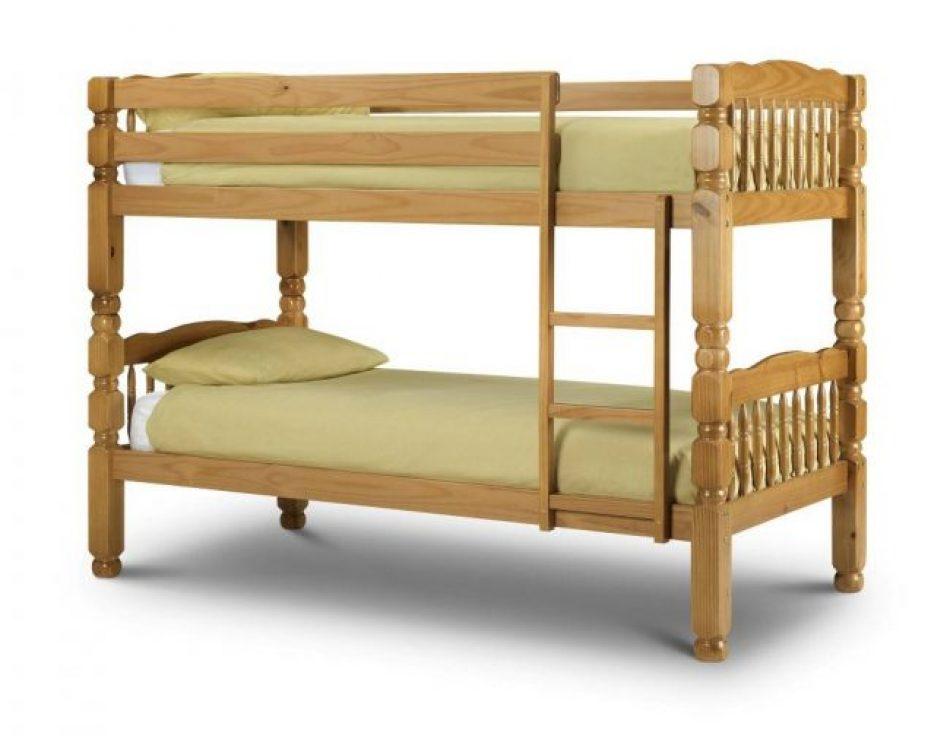 Bed 125 Pine Bunk