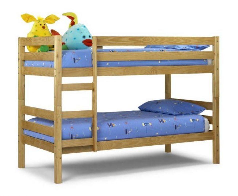 Bed 129 Pine Bunk