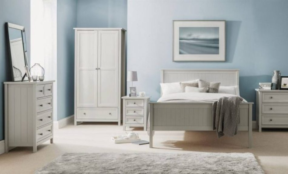 Dove Grey Bed 402