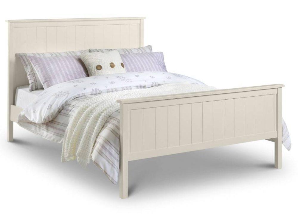 Stone White bed frame