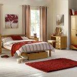 Pine bed frame room set with matching furniture