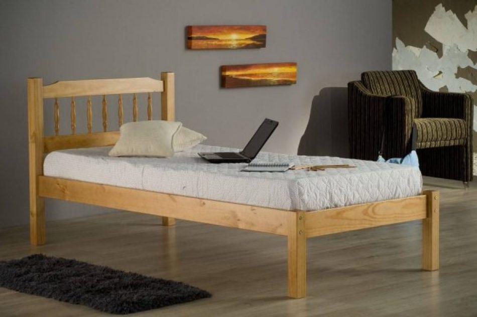 Antique Pine bed frame Single