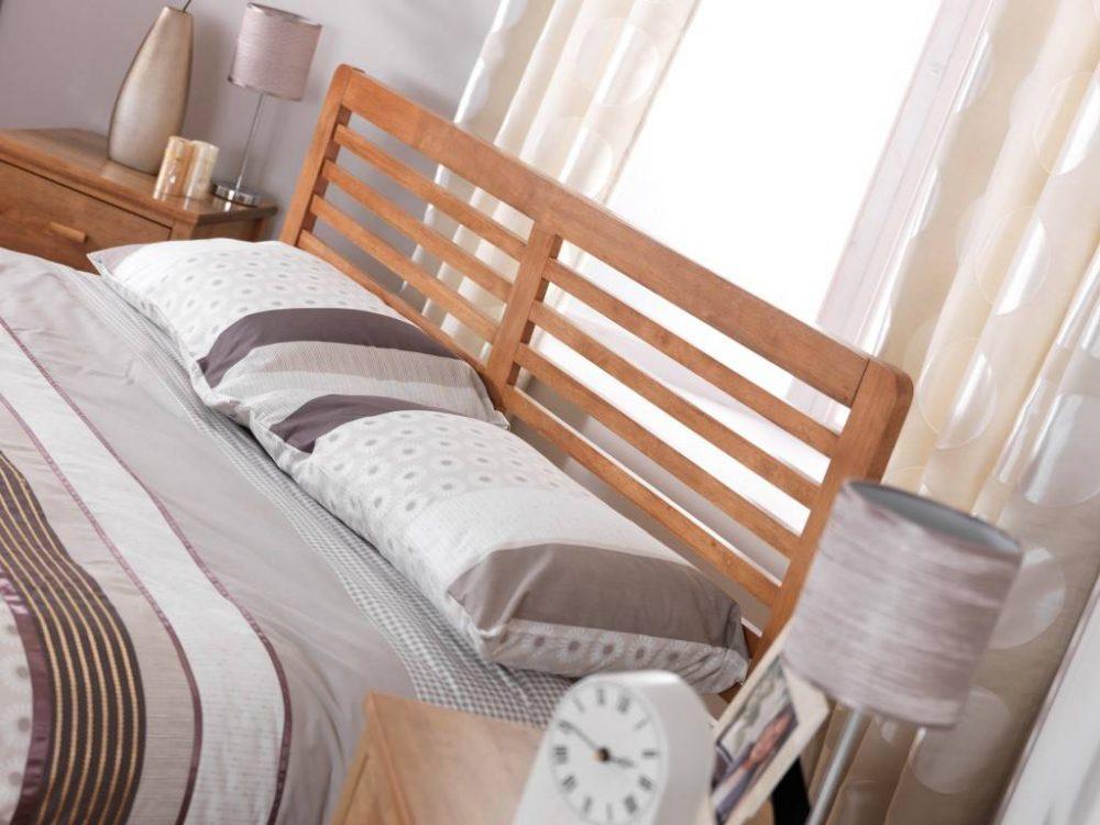 Shaker inspired bed
