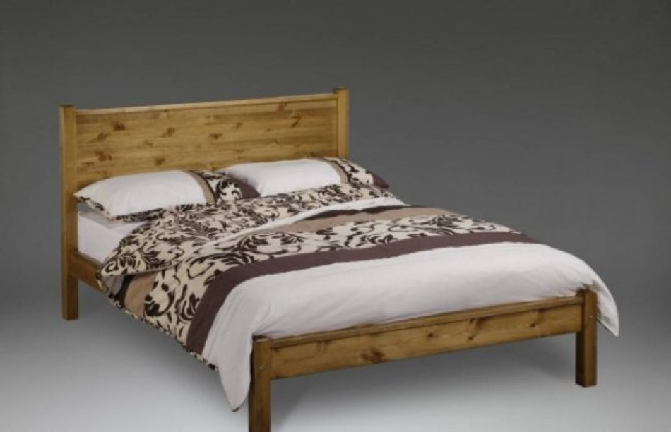 Bed 418 Solid Oak frame