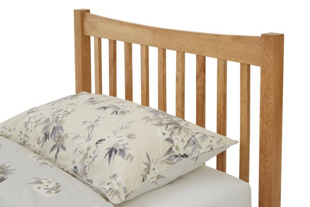 wooden square bed frame