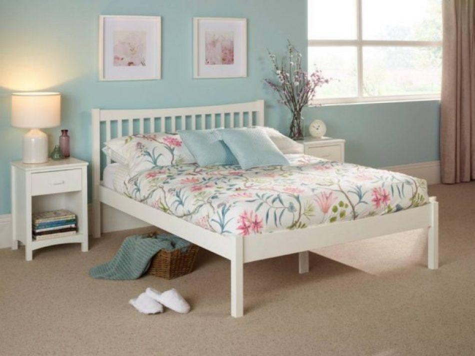 Shaker style bed frame