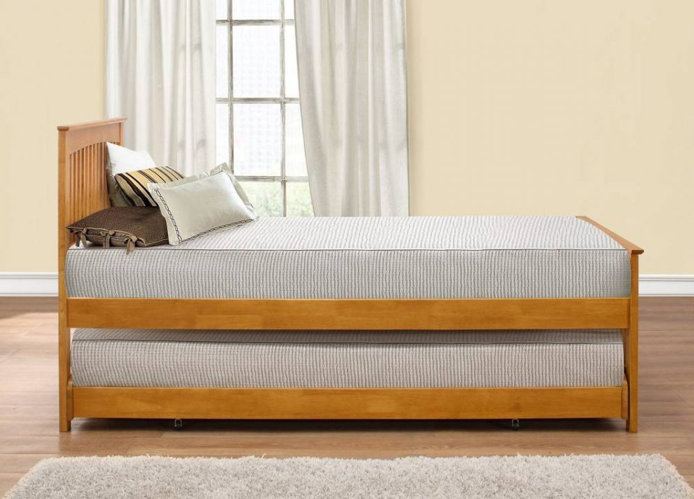 Wooden guest bed 2