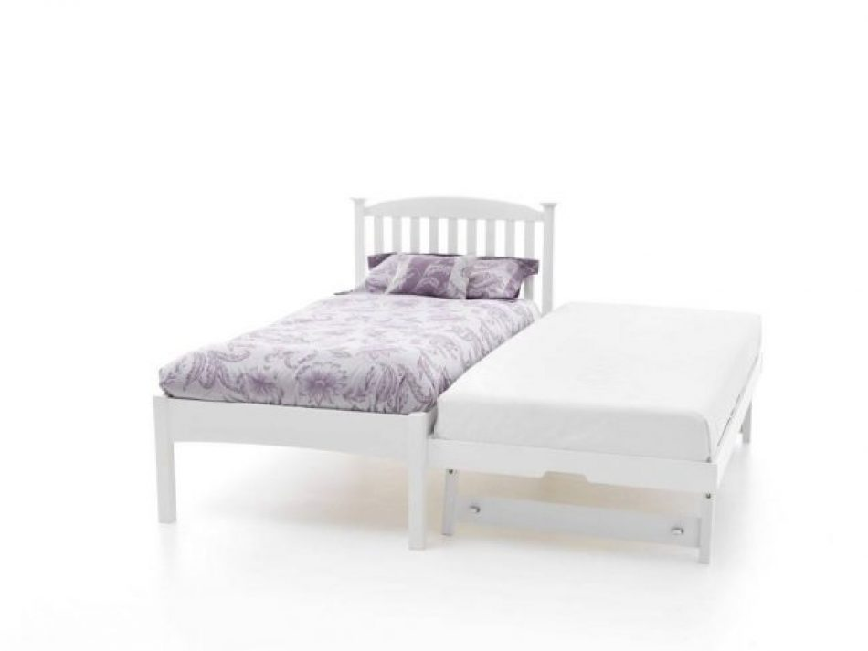 low food end Guest bed white