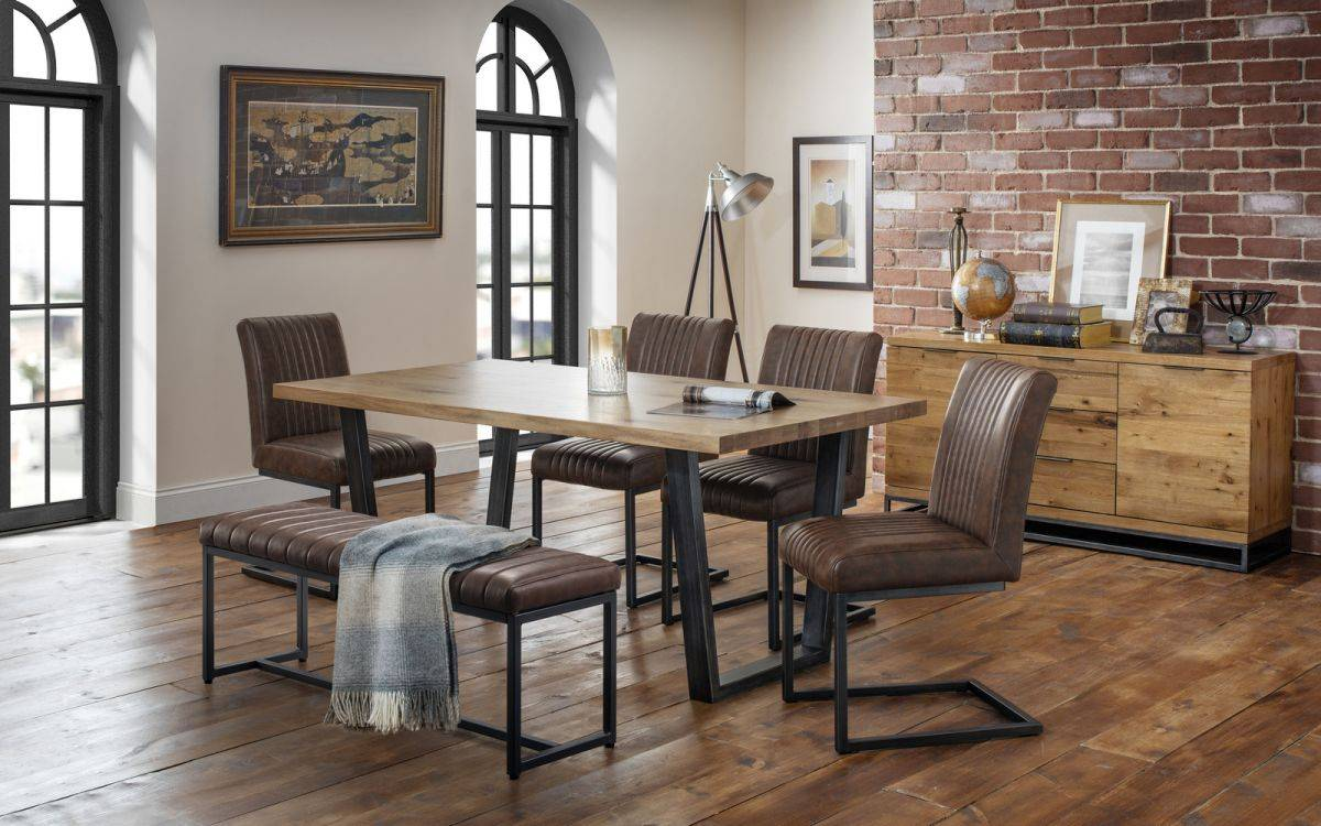 Industrial Living Collection Bedrock Furniture Local Independent Store