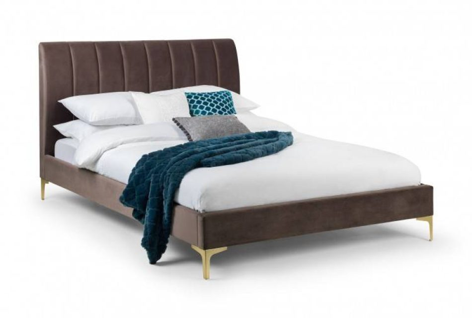 Truffle Fabric Bed 009