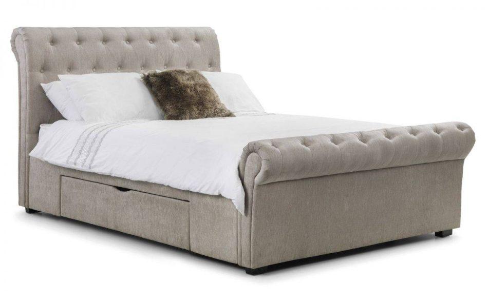 Scroll Fabric Storage Bed 008