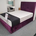 Luxury Divan Bed (Stripe)