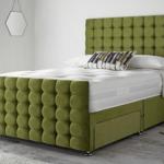 Luxury Divan Bed (High Foot board)