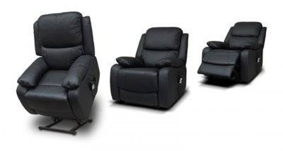Leather Lift and Rise Recliner
