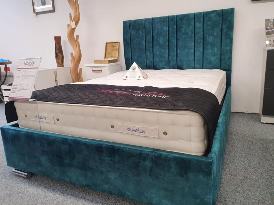 Pic 3 - Green Double Bed