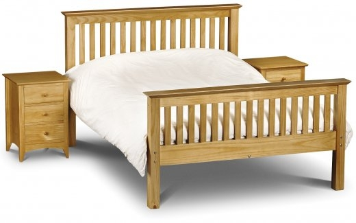 Bed 401 High footend Pine frame