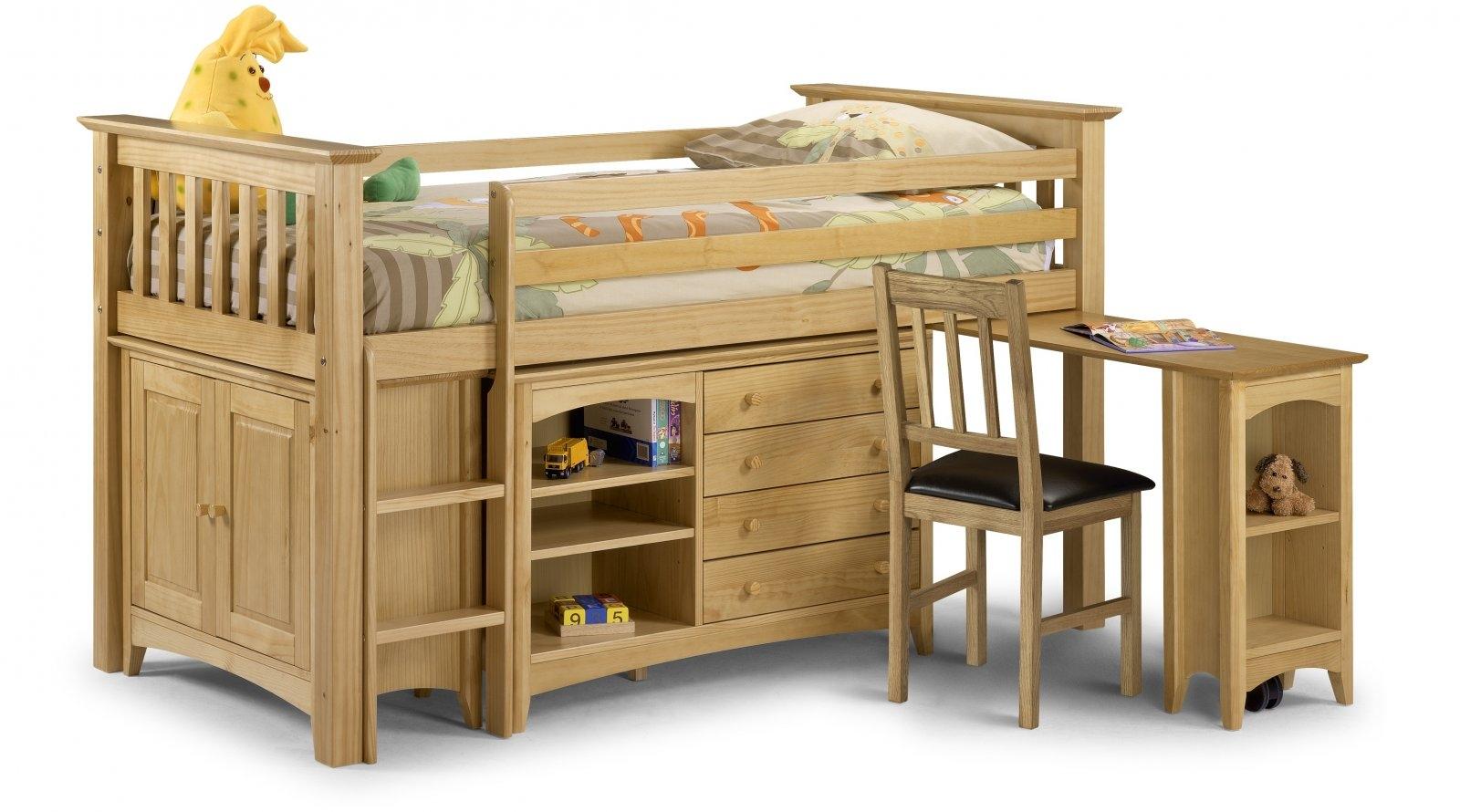Bed 110 Antique Pine Sleep Station