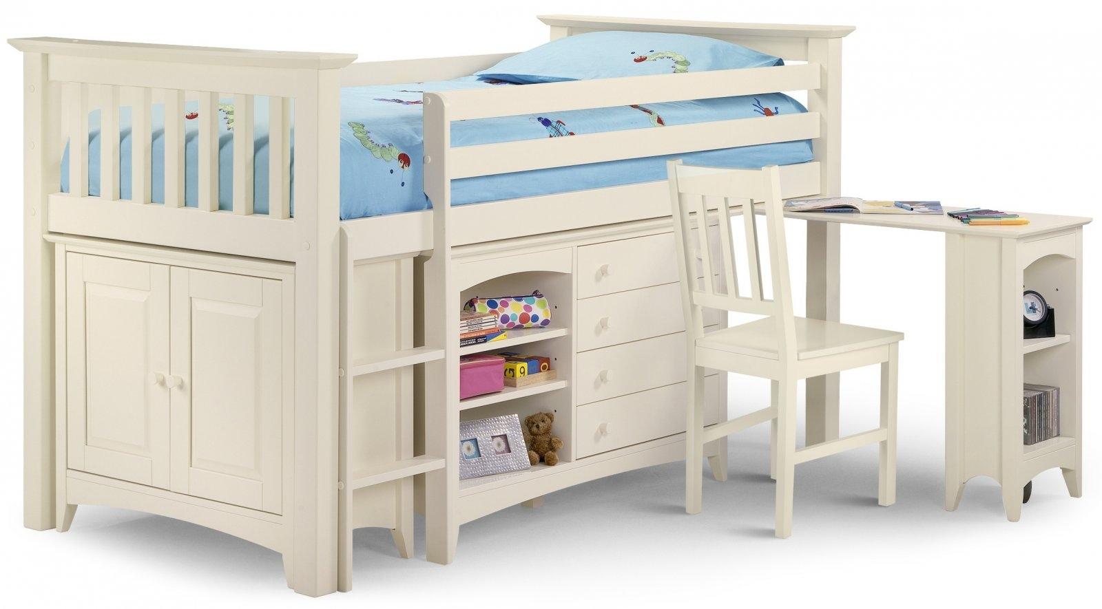 Bed 109 Stone White Sleep station