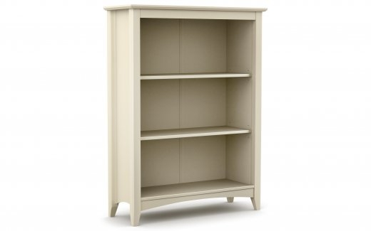 Stone White Bookcase