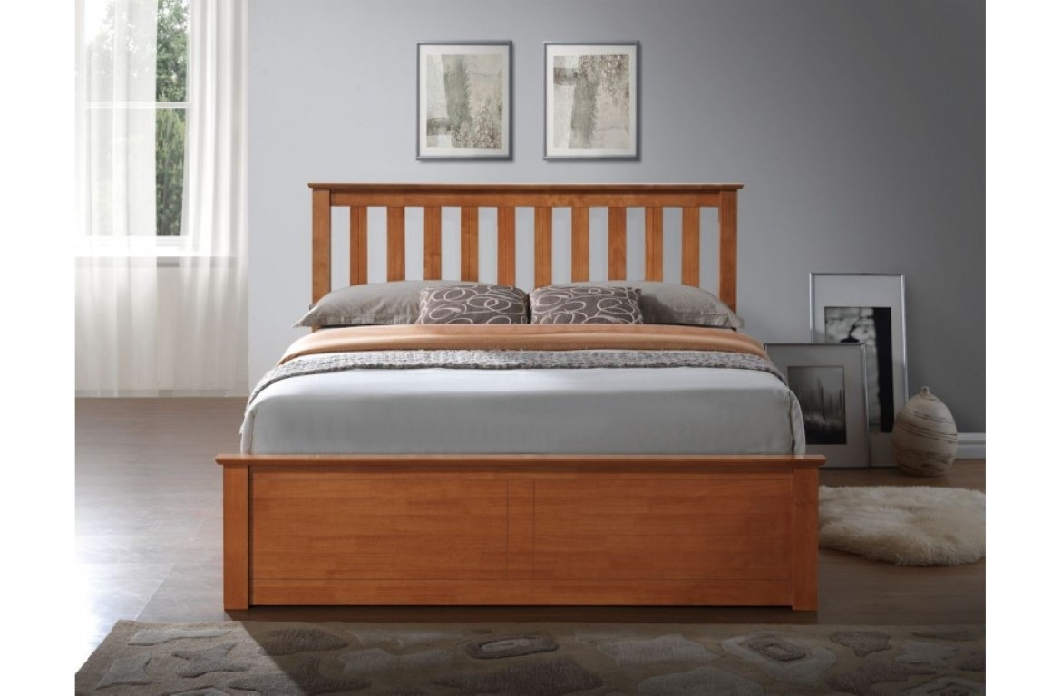 Bed 442 Wooden Ottoman frame