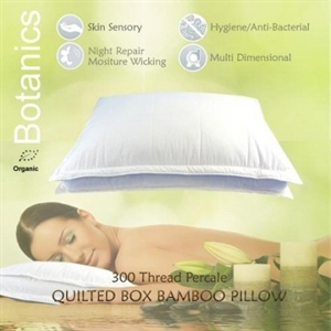 Luxury Bamboo Box Pillow
