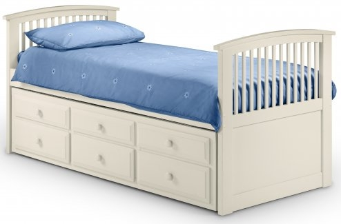 Bed 117 Wooden Storage Guest bed