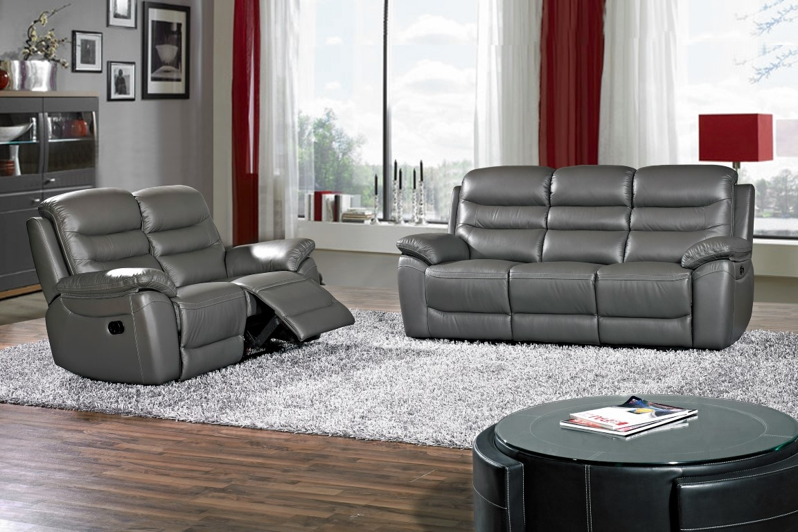 Romano Leather Recliner suite