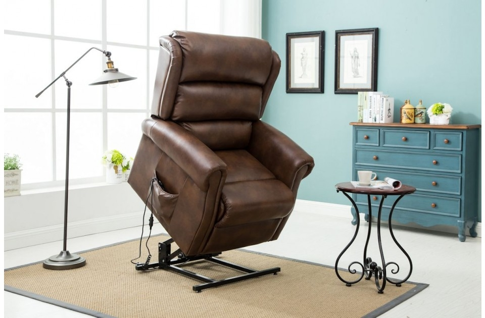 Manhattan Faux Leather Lift & Rise